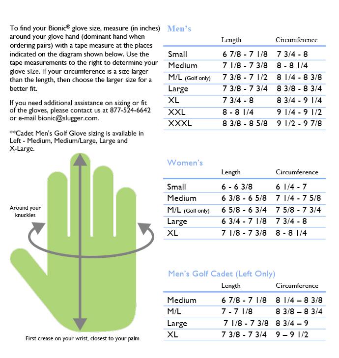 Tnt Golf Bionic Golf Glove